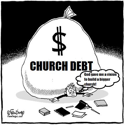 church debt