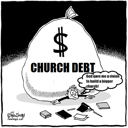 church debt