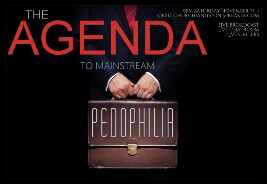 The Agenda To Mainstream Pedophilia